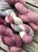 GARNLYCKAS 17dagarssjal - 17dagarssjal rosa/grå/vit
