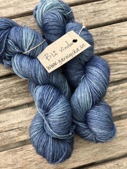 BLÅ VINDAR sockgarn - blå vindar sock
