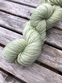 Light green silkeblandning - Light green silk
