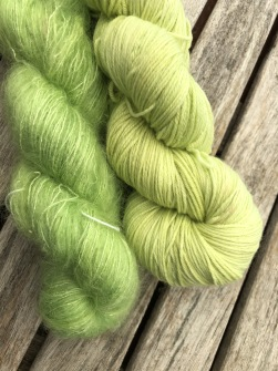 Lime  Garnlyckas duo - Lime duo