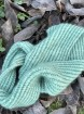 ELECTRIC GREEN garnlyckas duo - Mönster vintercowl