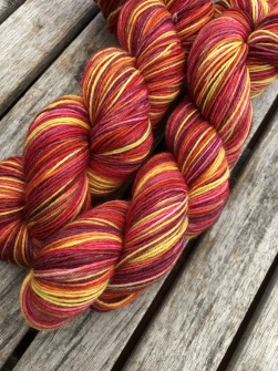 Sunset sockgarn - Sunset sock