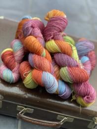 Happy rainbow sockgarn - Happy rainbow sock
