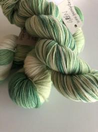 GRÖN sockgarn - Grön sock