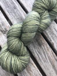Broccoli sockgarn - broccoli sock
