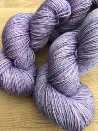 Lilly Blue sockgarn - lilly blue sock