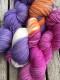 GARNLYCKAS 17dagarssjal - 17dagarssjal lila/orange/cerise