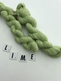 GARNLYCKAS SMÅGODIS - Lime smågodis