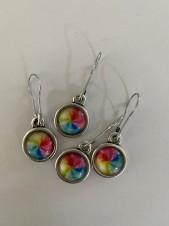 Stickmarkörer rainbow