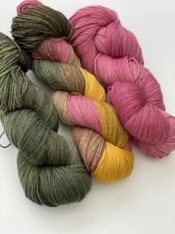 17dagarssjal new merino - 17dagarssjal nm grön/rosa