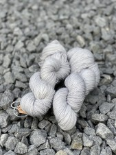 Silver sockgarn