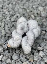 Silver sockgarn - Silver sock