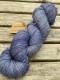 Ensamma härvor sockgarn - Carpe denim sock