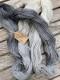 Ensamma härvor sockgarn - Grey sock