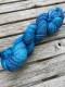 Ensamma härvor sockgarn - Adriatiska havet sock