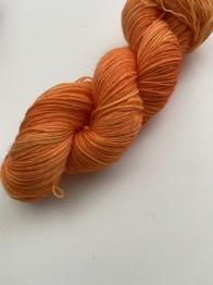 Orange pop sockgarn - Orange pop sock