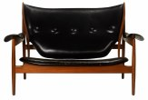 Finn Juhl Double Chieftan sofa
