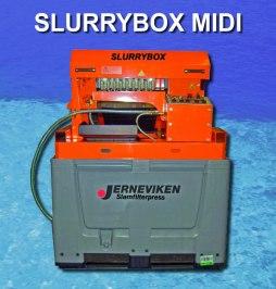 Slurrybox Midi reningsverk för slamvatten