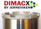 Dimacx diamantborr med positionerade diamanter