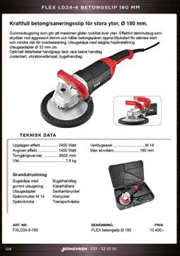 Flex betong/saneringsslip LD24-6