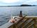 Fikapaus på verandan vid Köråsälva 2
