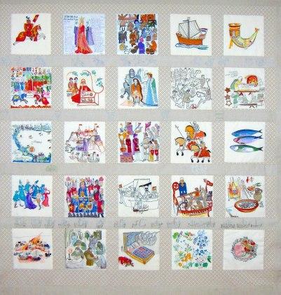 MEDELTIDEN 2 2,10 X 2,30 Konstnär Birgitta Arkenback