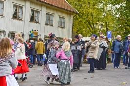 Barn hade dansuppvisning, likaså Kongahälla danslag Foto: Bo Ericsson