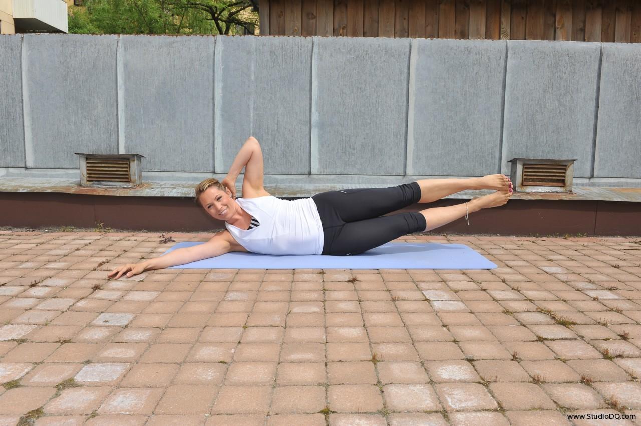 mag och ryggträning hemma