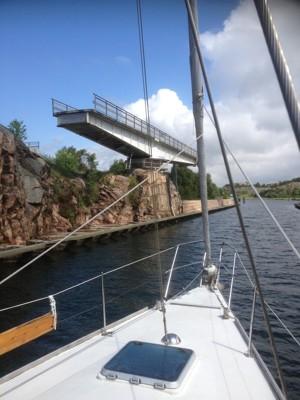 Bron över Soten kanalen