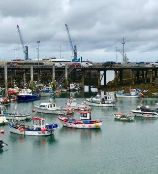 Yttre hamnen i Peterport