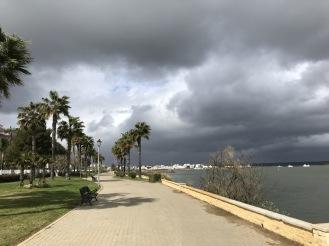 Isla de Canela i oväder