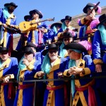 Festival i Cadiz med glada sångare