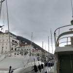 Idag var det moln över Gibraltarklippan.