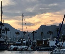 Cartagena i solnedgång