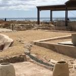 Arkeologiska utgrävningar i El Compello.