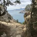 Vacker utsikt söderut mor El Campello