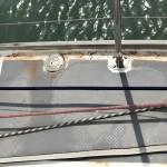 Efetr stormen hade vi halva Sahara på båten.
