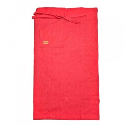 Rött förkläde