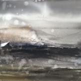The Rain 76x55 cm