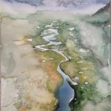 landskap jokkmokk 56x76cm