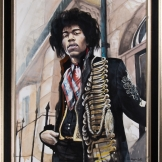 Jimi Hendrix London 110x91cm