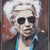 Keith Richards 93x72