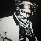 Keith Richards 90x70