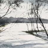 Ingarö Winter 45x35cm