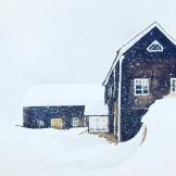 snöyra på torp Orsa 35x45cm