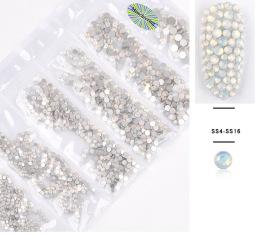 Vit opal kristaller -