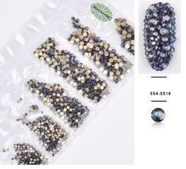 Svart/blå kristaller -
