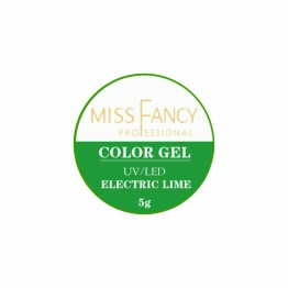 "Color Gel ""Electric Lime"" -"
