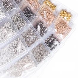 Caviar beads - Gold