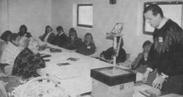 Kunniga kursledaren Hans Rosenberg i utbildningstagen! (Charmören 2/1992).